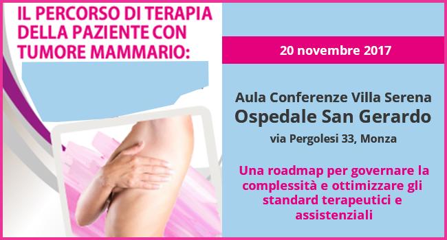 terapia paziente con tumore mammario
