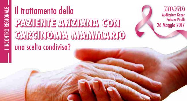 Paziente Anziana con Carcinoma Mammario
