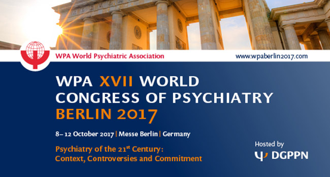 WPA XVII World cogress psychiatry berlin 2017